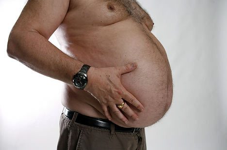 Pregnant man or Bloated Belly?